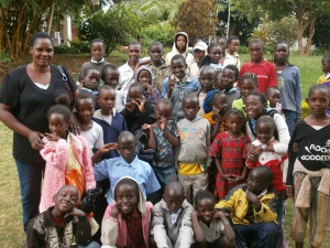 Children from Merciful Redeemer Children Home, Kitengela