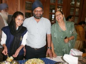 L to R Jaspreet Sehmi, P.S. Sehmi, Darshan Sehmi