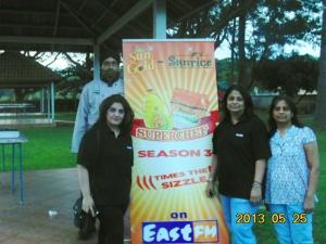 L to R Avraj Marwa, Kamal Kaur, Jasmine Postwalla, Vandana Shah