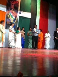 Mr Kalpesh Solanki opens the magazine Suryodaya