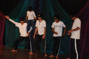 A Special Performance Based on Blind People