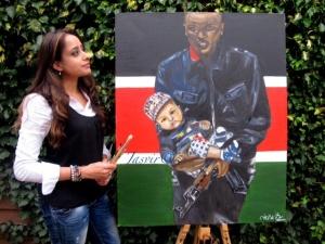 Jasvir's Painting Westgate Attack