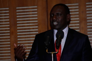 Hon. William Ruto, Deputy President of the Republic of Kenya