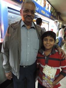 L to R Anil Sangrajkha, Dilan Sangrajkha