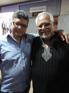 L to R Kamlesh Shah, Sudhir Vidyarthi