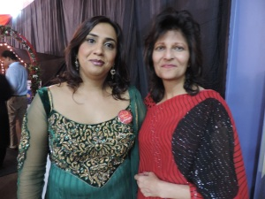 L to R Ketna Patel, Munira Rehemtullah