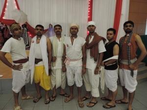 L to R The Lagaan Boys- Brijesh Rabadia, Dipaki Nanji, Dheeraj Ratna, Mohan Varsani, Vishal Pindolia, Harshil Bhudia, Chetan Nanji
