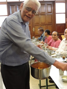 Justice A B Shah Serving The Seniors