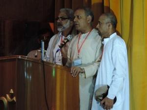 L to R P Raghupati, Prakash Parmar, Tapan Das