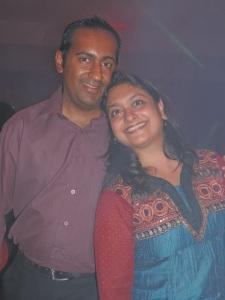 L to R Bejul Shah, Sheily Shah