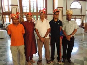 L to R Birju Shah, Rajesh Shah, Dipak Shah, Rushabh Shah, Hitesh Shah
