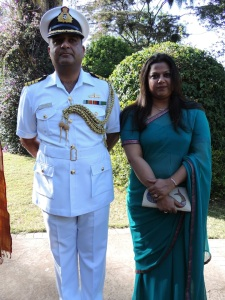 L to R Captain Kapoor, Shilpa Kapoor