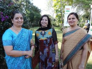L to R Chitra Kaur, Anjali Tiwari, Meera Verma