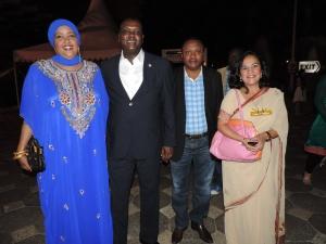 L to R Honey Abdi Mohamud, Dr Hassan Wario Arero, Fred Muteti, Hon. Sunjeev Kaur Birdi