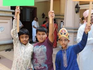 L to R Parshva Dodhia, Punya Shah, Yash Shah
