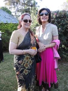 L to R Puspha Madan, Dr Poonam Madan