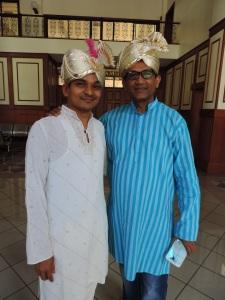 L to R Vaibhav Soni, Vijay Doshi