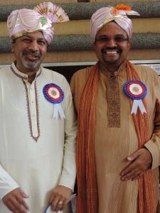 L to R Vijay Shah, Rashmi Shah