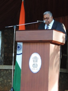 The High Commissioner for India, Sibabrata Tripathi