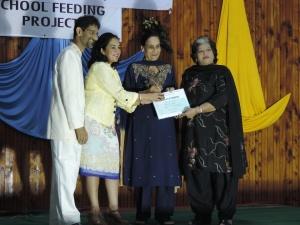 L to R Dr Minesh Shah, Hon. Sunjeev K Birdi, MP (Nominated), Sushil Sharma, Rekha Kochar