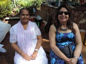 L to R Fatmabhai Abdulla, Nasrine Premj Javer