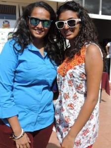 L to R Jaisha Jethwa, Priyanka Patel