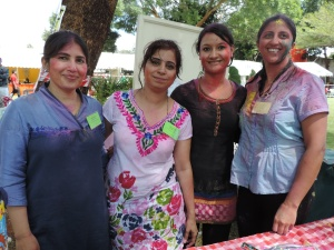 L to R Jaya Gulati, Aastha Monga, Anjali Bisht, Gauri Vidyarthi