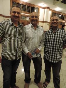 L to R Mitesh Shah, Manish Dodhia, Nishid Dodhia
