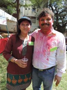 L to R Monika Gupta, Kamal Gupta