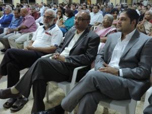 L to R P Raghupati, Vipul Shah, Manish Parmar