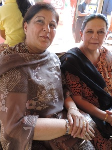 L to R Parveen Khamisa, Zarina Hussein