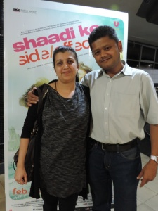 L to R Sonal Shah, Pritesh Shah