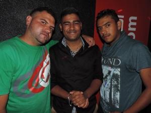 L to R Andrew Antonia, Kamal Panesar, Akuski Chaudhry