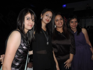 L to R Ankita Rathod, Megha Joshi, Chandni Joshi, Dipali Rathod
