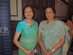L to R Chandrika Pattni, Indu Pattni