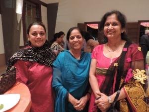L to R Divya Kanabar, Jyoti Patel, Chetna Pathak