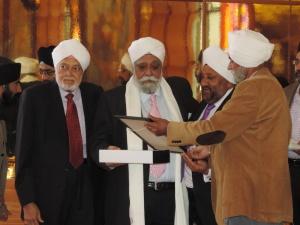 L to R Harbans Amrit, Swaran Singh Gharial, Manjit Singh Sethi, Tejpal Singh Lochab