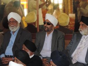 L to R Harbans Singh Panesar, Bharj Singh, Kuldip Singh Sehmi