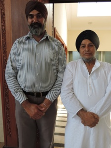 L to R Harvinder Singh, Harmohinder Singh