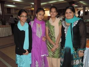 L to R Ishwin Kaur, Kamalpreet Kaur, Daljeet Kaur, Jaswinder Kaur