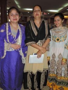 L to R Jasjit Kaur, Darshan Sehmi, Jaspreet Sehmi