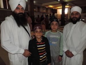 L to R Lakhvinder Singh, Tarandeep Singh, Gagandeep Singh, Harvinder Singh