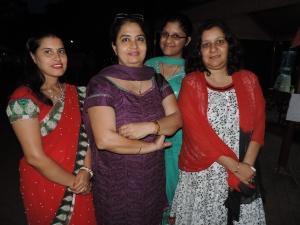 L to R Meena Sharma, Komal Mehta, Kanika Mehta, Ritu Mehta