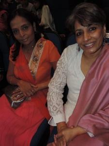 L to R Nimisha Patel, Varsha Patel