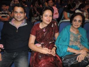 L to R Rajesh Hiranandani, Sonia Aggarwal, Sunita Aggarwal