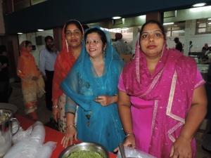L to R Rani Kaur, Harjit Kaur Hunjan, Pinky Hunjan