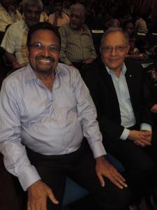 L to R Rashmi Shah, Rasik Kantaria