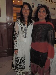 L to R Sameena Cockar, Sangeeta Adatia