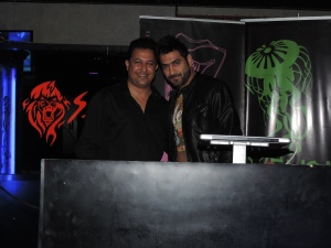 L to R Sanjeev Sharma, DJ Lemon