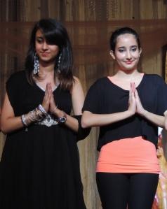 L to R Shiksha Arora, Shivani Shah
